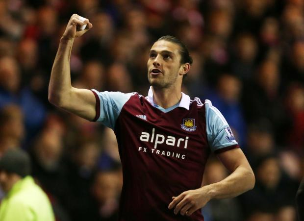 The Northern Echo: Brazil-bound? Andy Carroll. Picture: Action Images