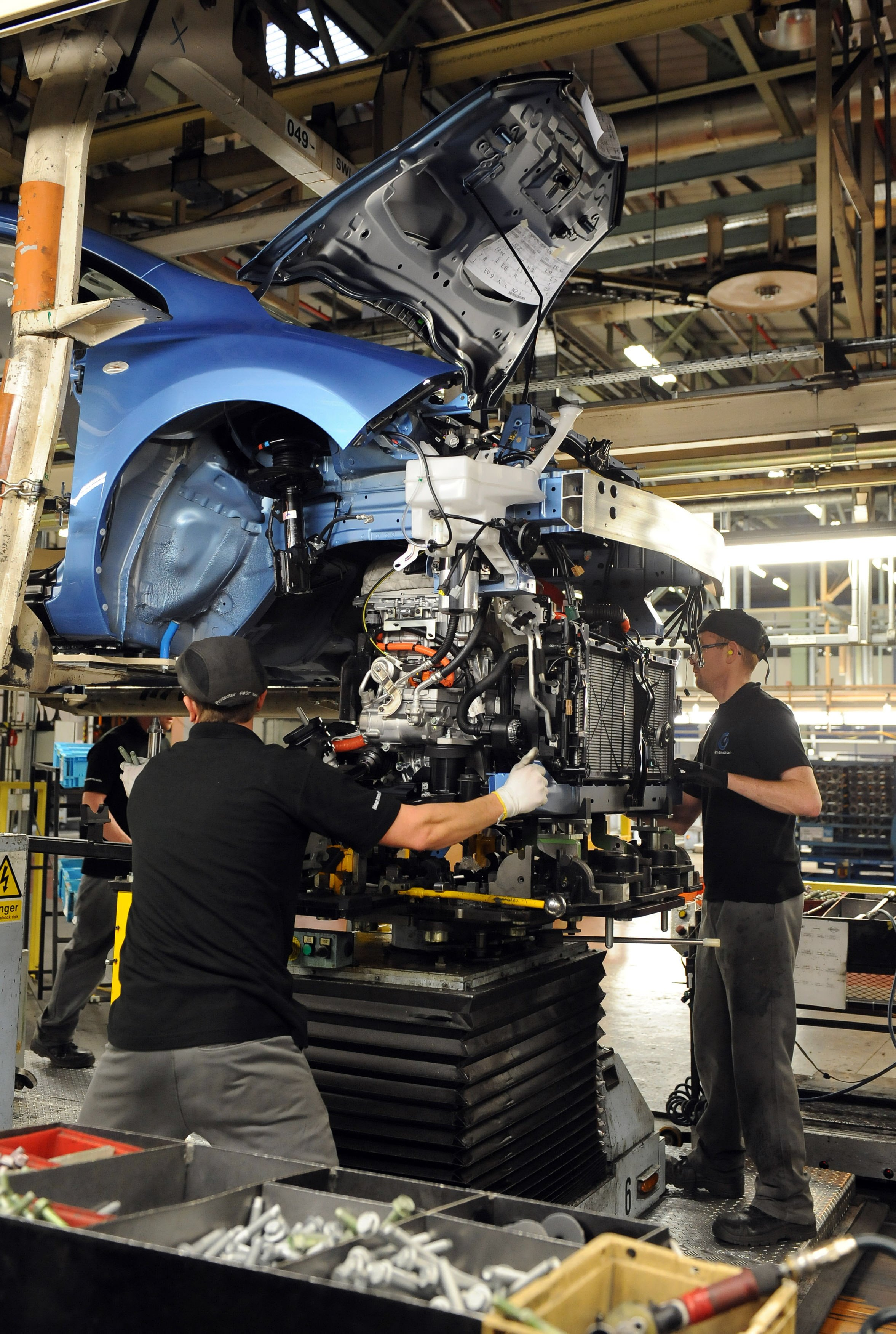 The job cuts at Nissan Sunderland will be limited to staff on temporary contracts.