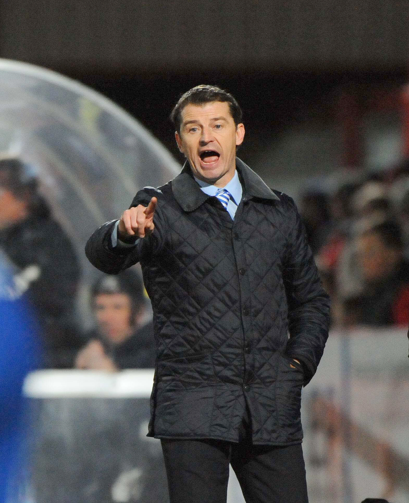 FAITH: Pools boss Colin Cooper