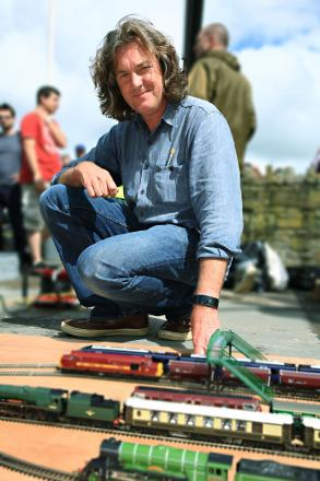 Hornby's train sets are adored by thousands of collectors, including television presenter James May