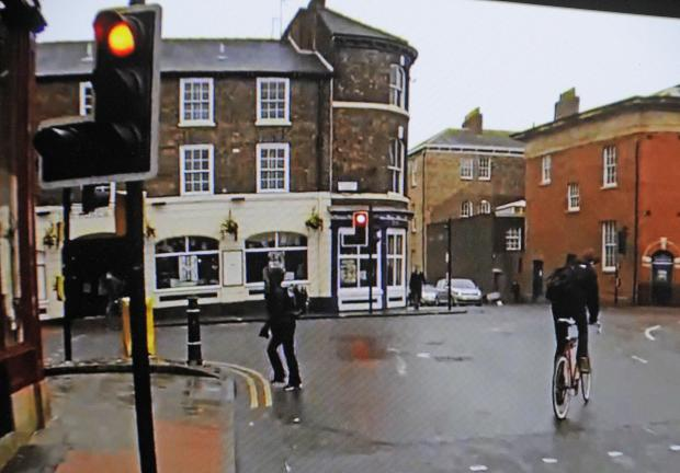 Footage of cyclists on York's roads shows cyclists running red lights and riding the wrong way down one-way streets