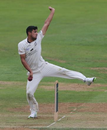 File photo dated 12/09/2013 of Durham's Usman Arshad. PRESS ASSOCIATION Photo. Issue date: Monday March 31, 2014. In a handful of matches at the end of Durham's championship-winning 2013 summer, all-rounder Arshad made an instant impact as a signi