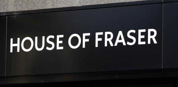 House of Fraser could double its number of stores