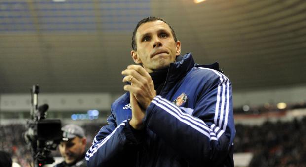 NOT GOING ANYWHERE: Sunderland head coach Gus Poyet