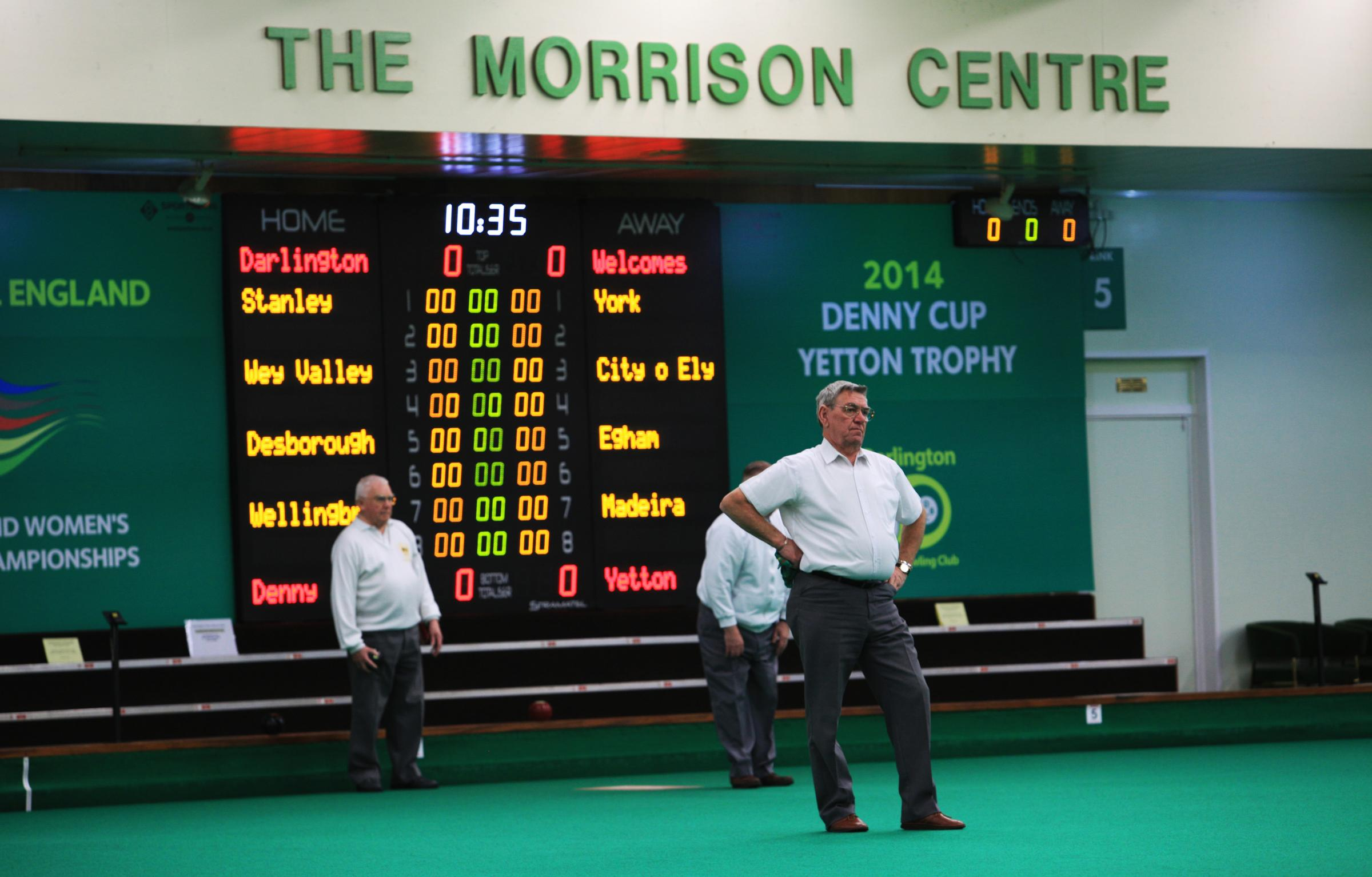 Final Touches Put In Place As Indoor Bowls Club Prepares To Host Fa