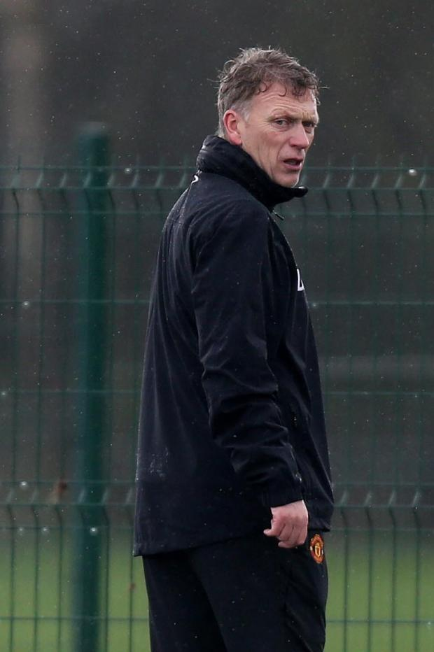 The Northern Echo: MANCHESTER UNITED BOSS: David Moyes