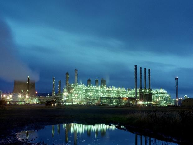 Sabic UK's site at Wilton, near Redcar