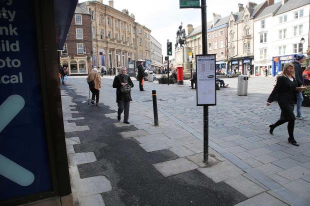 'ABOMINATION': Tarmac instead of paving slabs in Durham Market Place