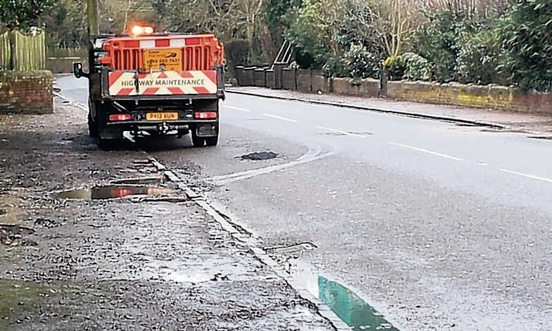 Minister invites bids to £168m Pothole Fund