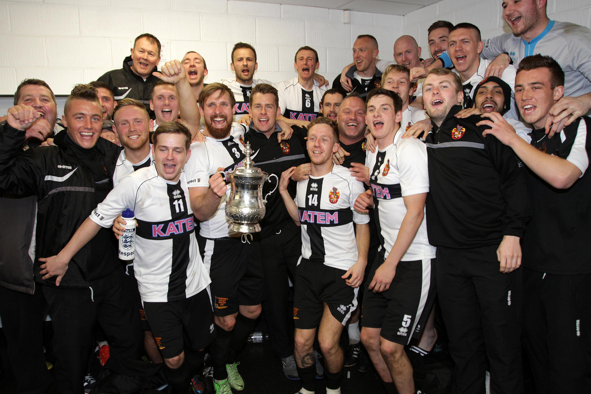 Ebac Northern League: 'Our toughest title' says boss Ainsley after Moors triumph