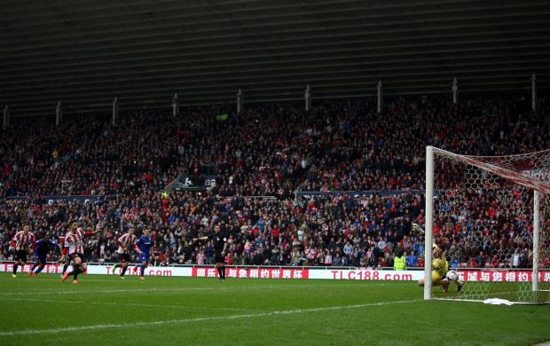 Crowd boost: Fabio Borini has helped give Sunderland a survival boost in recent weeks