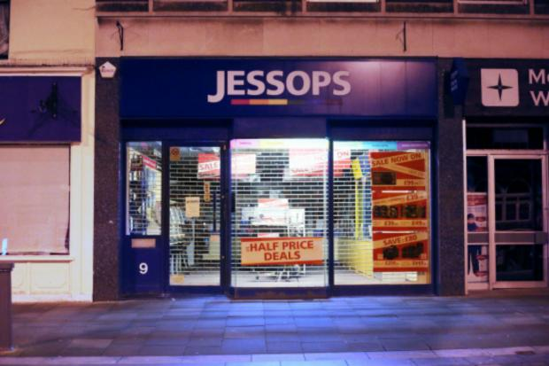 The Northern Echo: The former Jessops store in Darlington's High Row