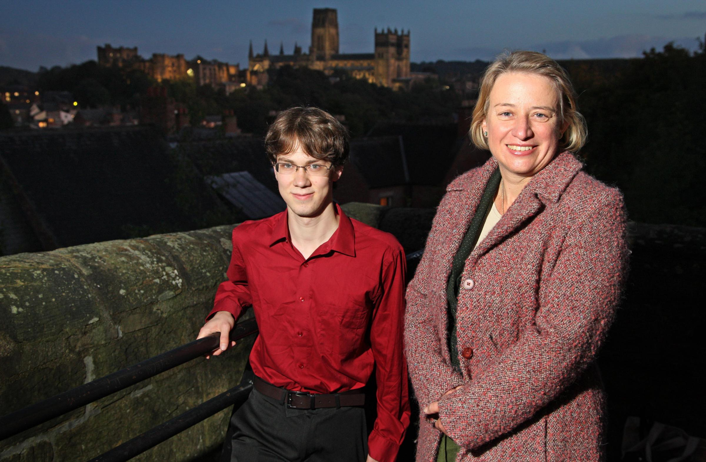 Natalie Bennett during a previous visit to Durham