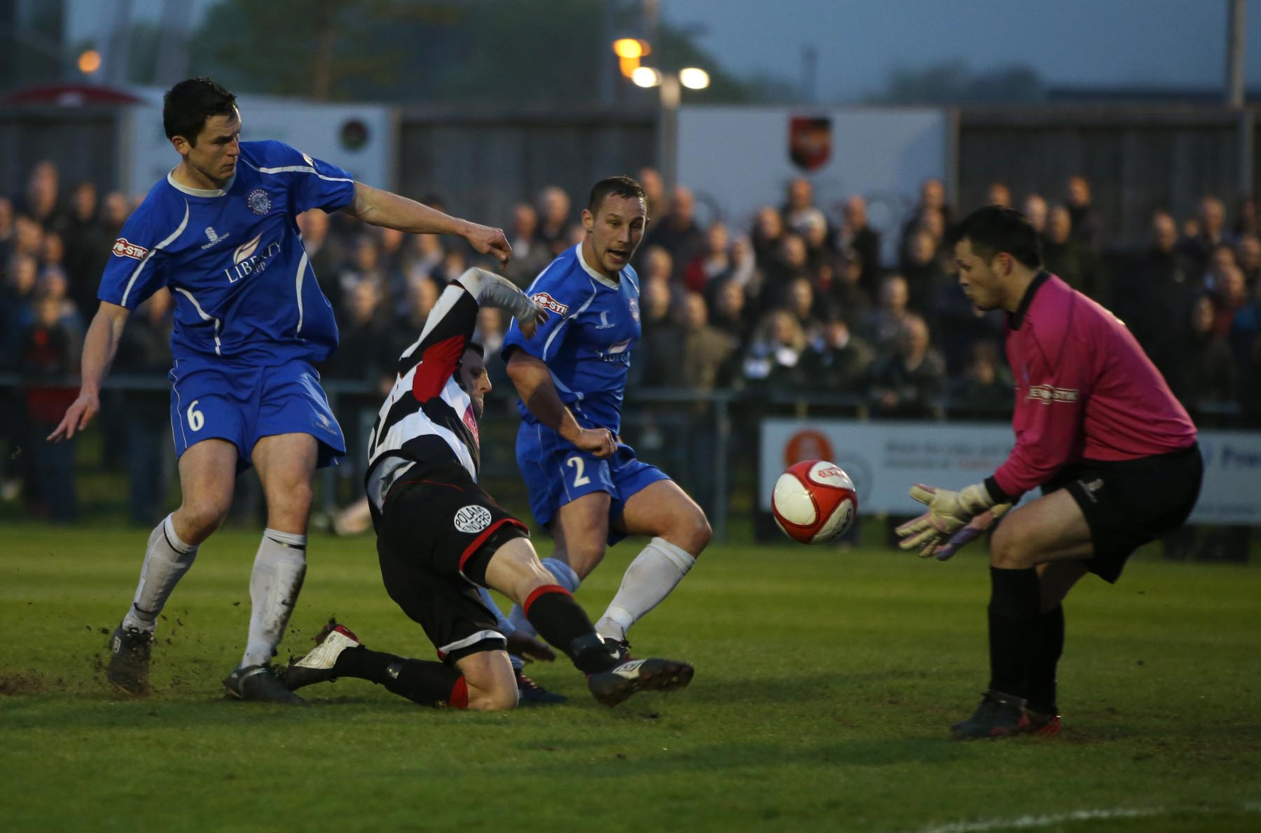 Match report: Darlington 0 Ramsbottom 2