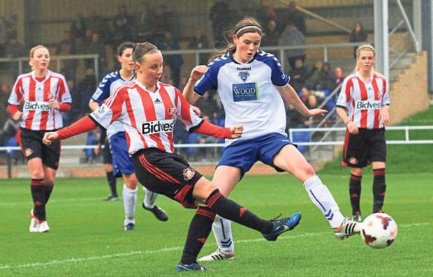GOALSCORER: Sunderland's Beth Mead in action