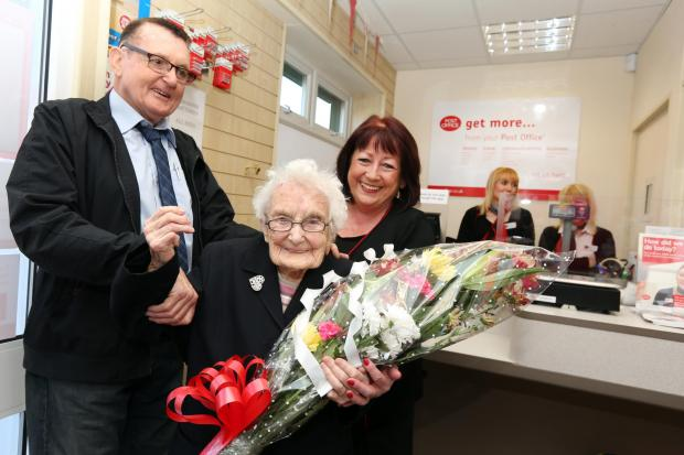 The Northern Echo: OPENING TIME: Ceremony at Deneside Post Offi