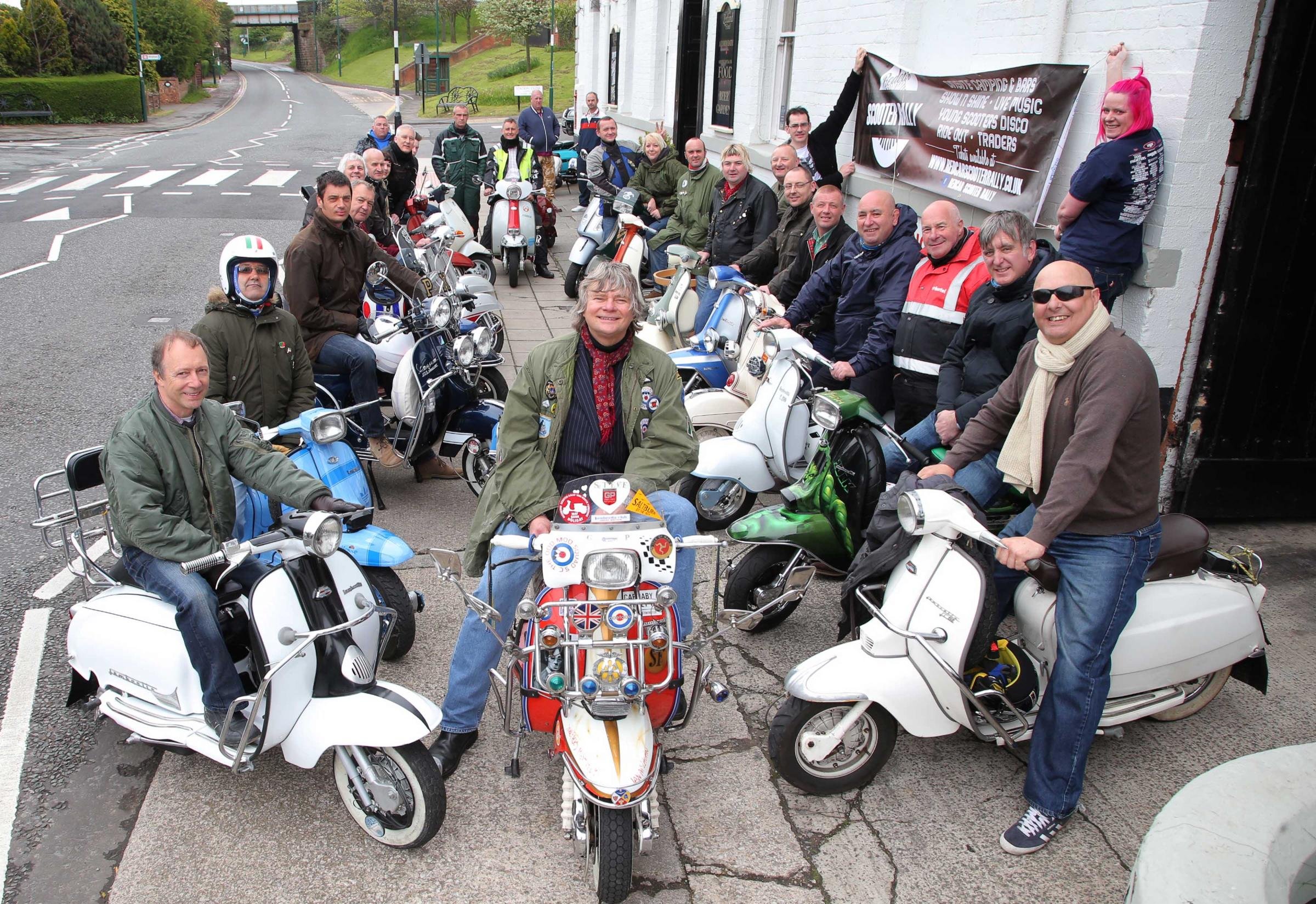 Scooter rally set to recreate the heyday of the Mods