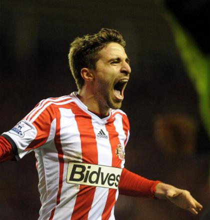 FEE AGREED: Liverpool have accepted Sunderland's improved offer for Fabio Borini