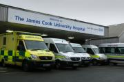 The James Cook University Hospital in Middlesbrough is part of the South Tees NHS Trust which needs to save £91m within three year