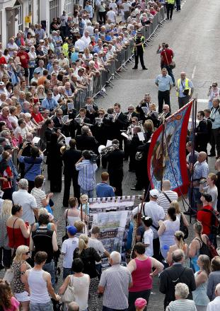 The 129th Durham Miners Gala in Durham City