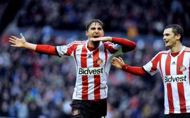 NO DECISION: Fabio Borini still won't give Sunderland an answer about his future plans