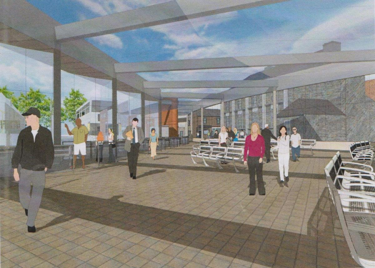 Durham Bus Station Plan Only A First Draft The Northern Echo