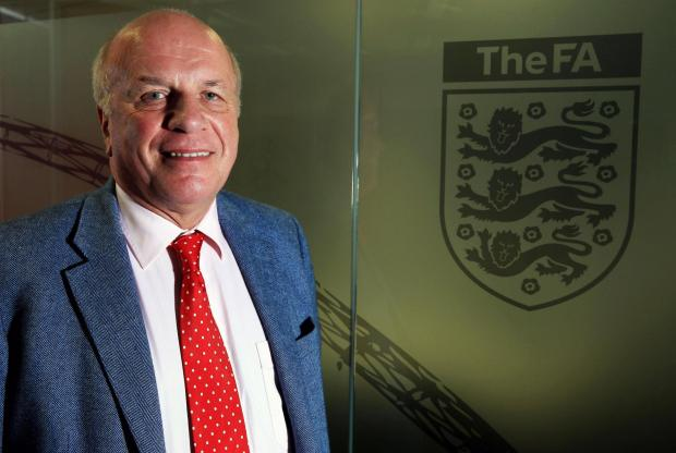 File photo dated 08/11/2013 of Football Association Chairman Greg Dyke. PRESS ASSOCIATION Photo. Issue date: Thursday May 8, 2014. A plan of action to increase the number of English players in the Premier League is expected to be unveiled when Football As