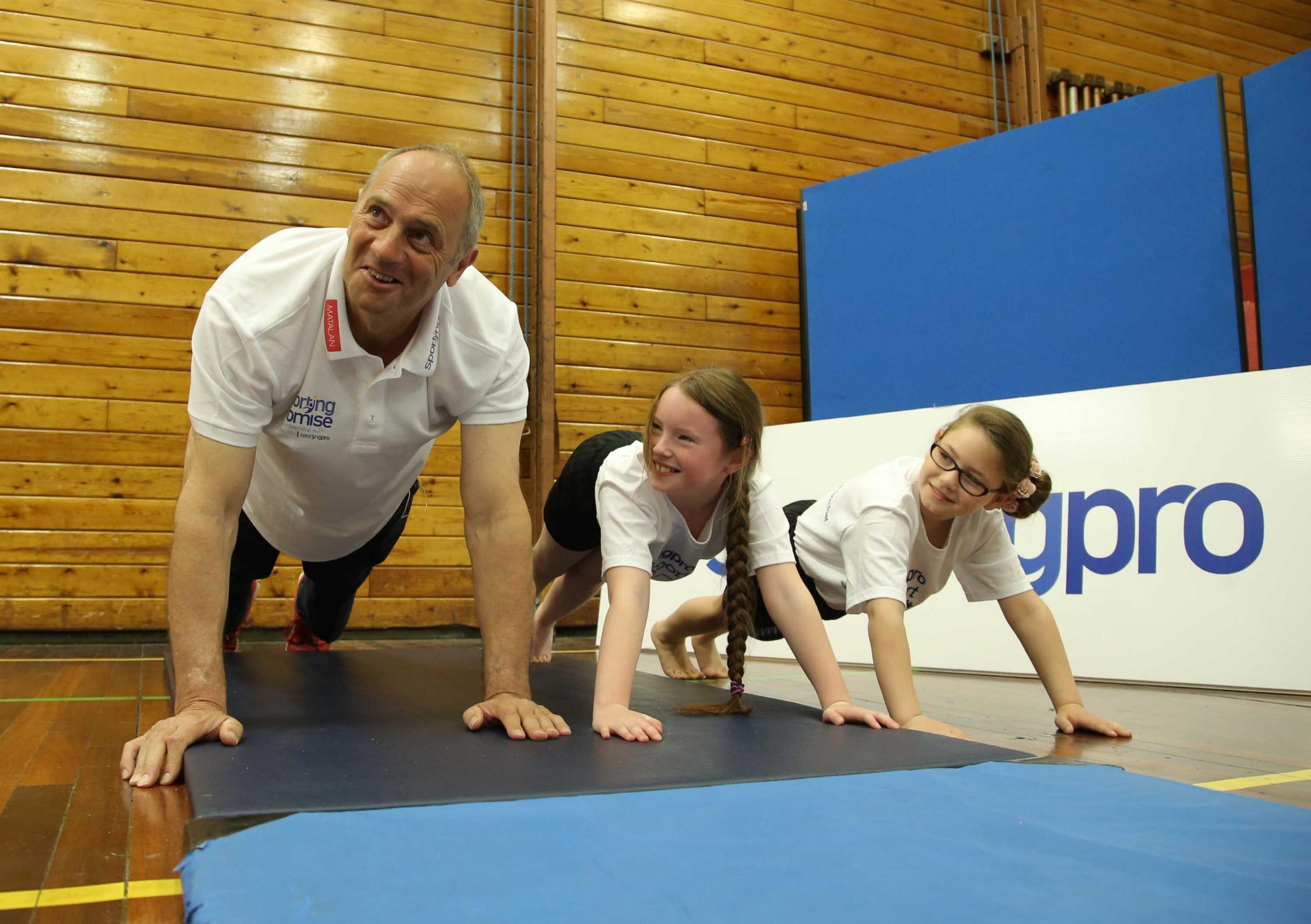 Sir Steve Redgrave tells of how sport may have saved him from a life of crime on trip to region to inspire youngsters