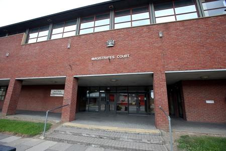 COURT APPEARANCE: Lynn Inwood, 54, has appeared at Newton Aycliffe Magistrates Court charge with using threatening and abusive words and behaviour.
