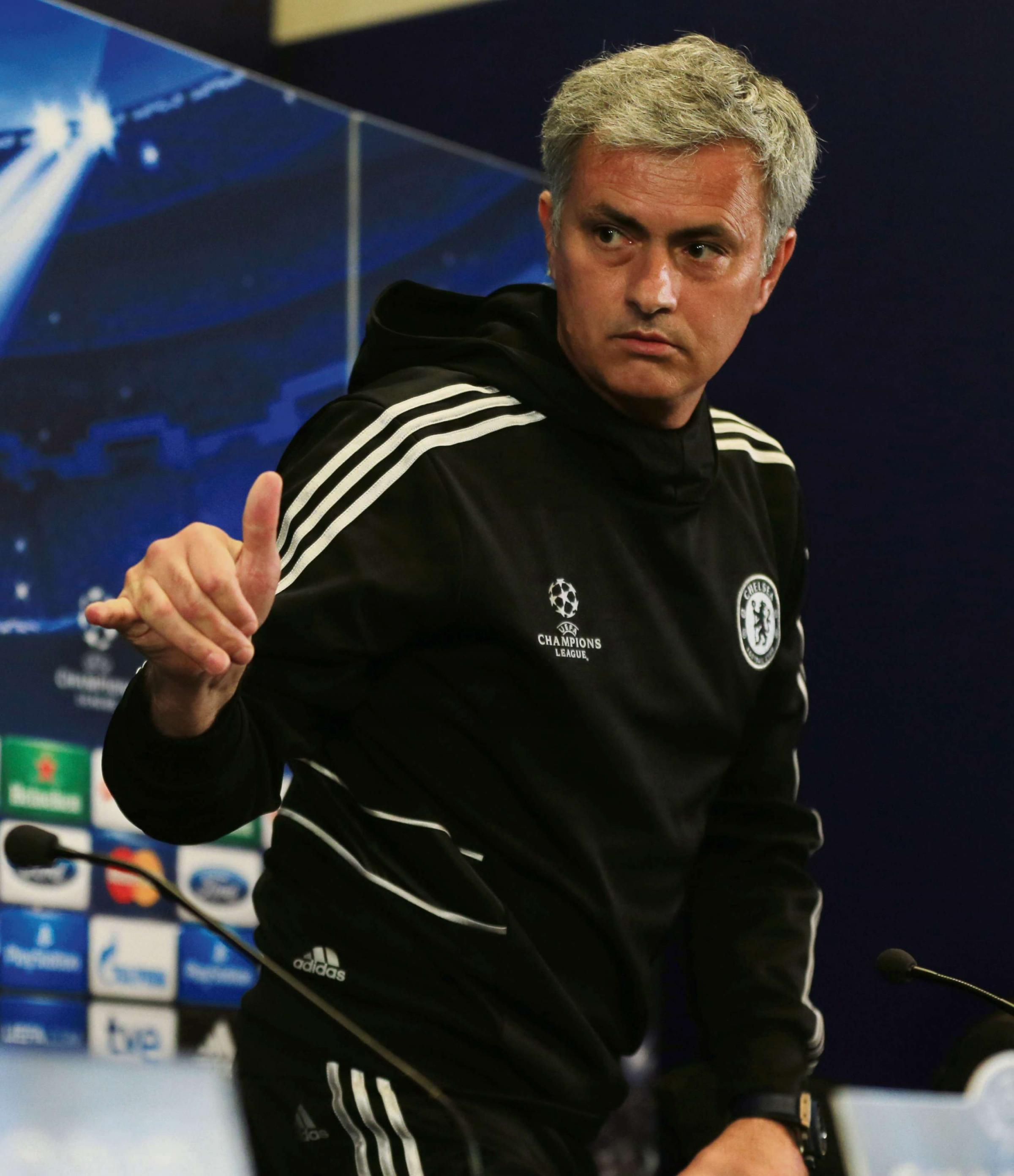 FINED: Jose Mourinho has to pay up £10,000 in relation to comments he made