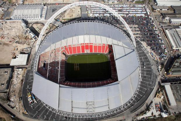 The Northern Echo: Wembley stadium which will host the FA Vase final between West Auckland and Sholing