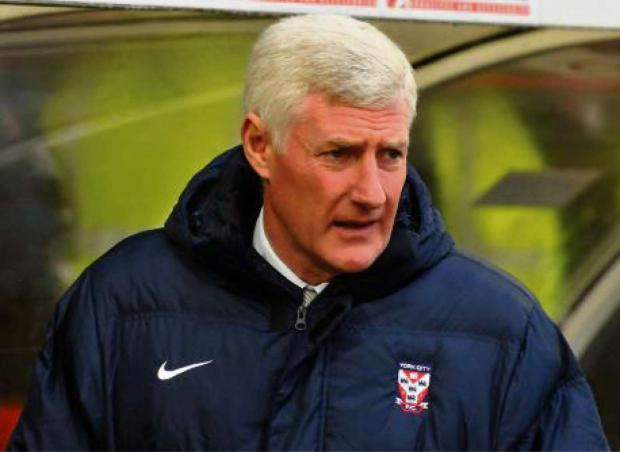 IN FORM: Nigel Worthington's York City side entertain Fleetwood Town in the first leg of their play-off semi-final tonight