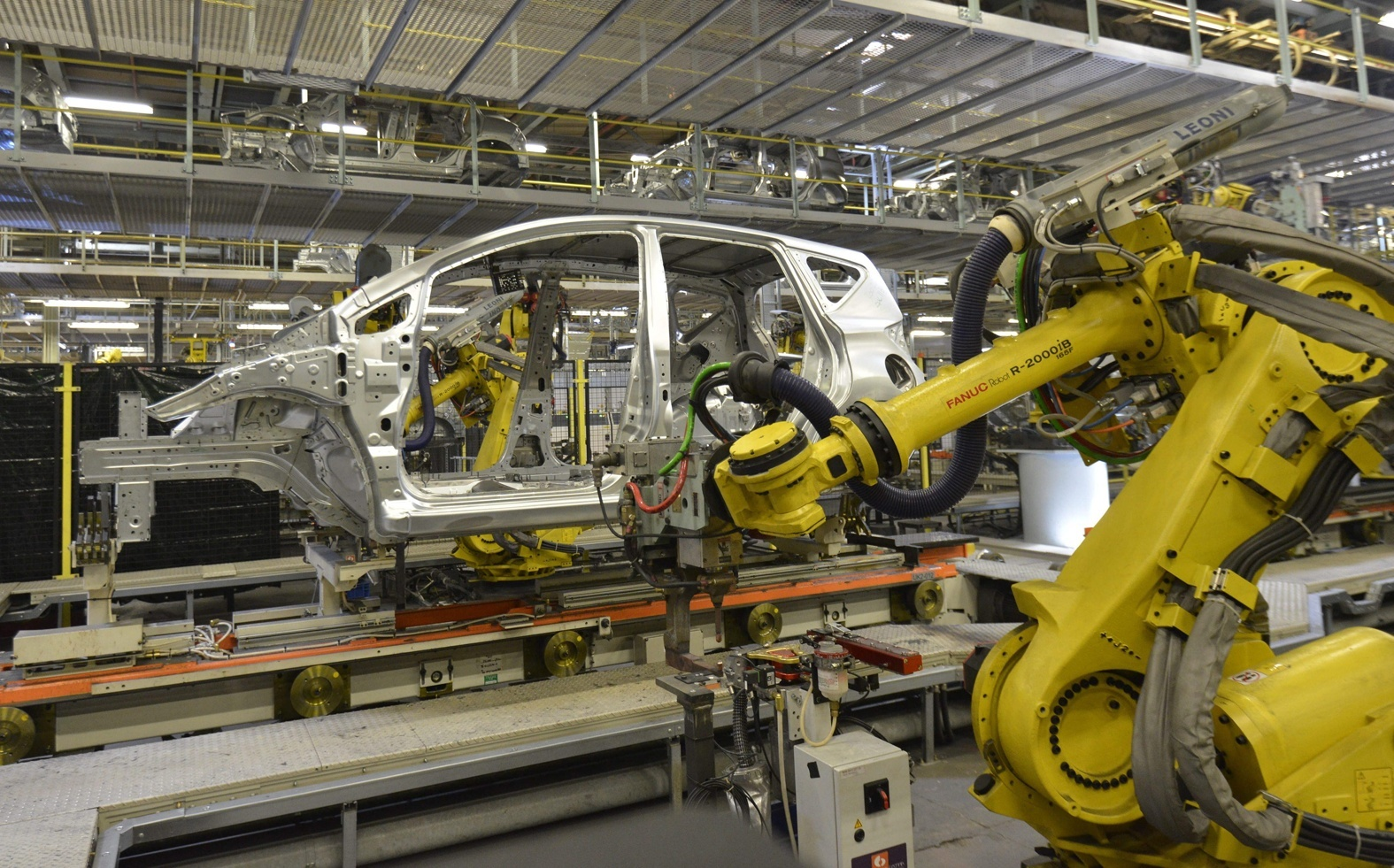Nissan's Sunderland plant makes the Qashqai, Juke, Note and Leaf models