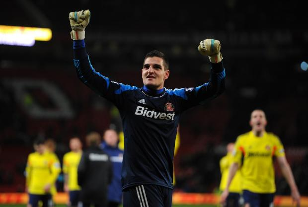 The Northern Echo: KEY MAN: Vito Mannone was one of Sunderland's key players this season - and the goalkeeper does not want to see the current squad ripped apart this summer