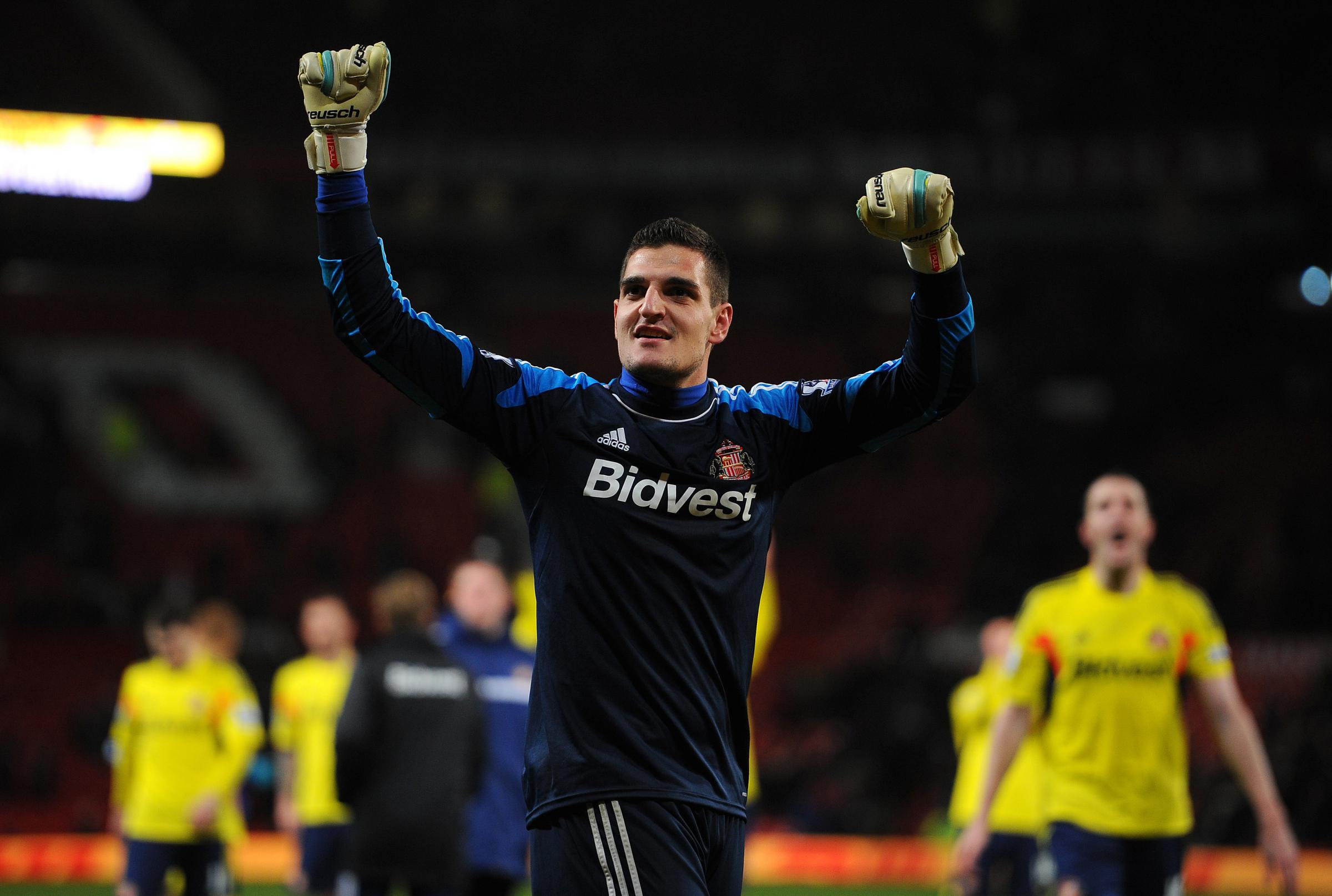 KEY MAN: Vito Mannone was one of Sunderland's key players this season - and the goalkeeper does not want to see the current squad ripped apart this summer