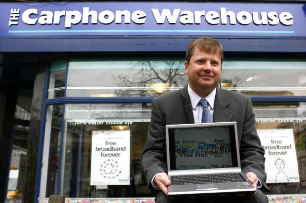 Carphone chief executive Charles Dunstone.