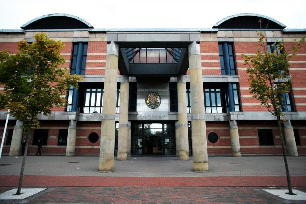 The Northern Echo: Teesside Crown Court.