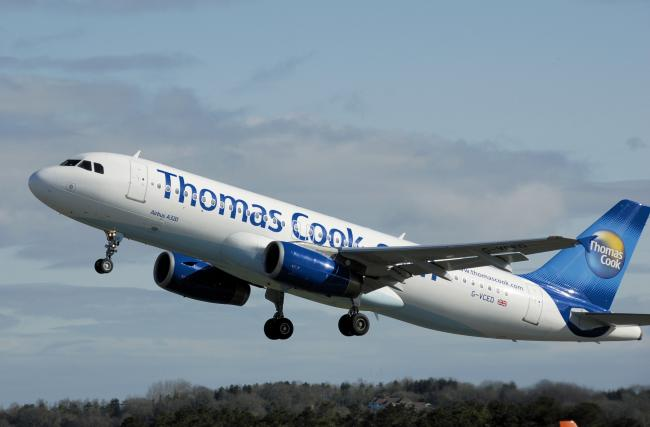 Thomas Cook flight diverted