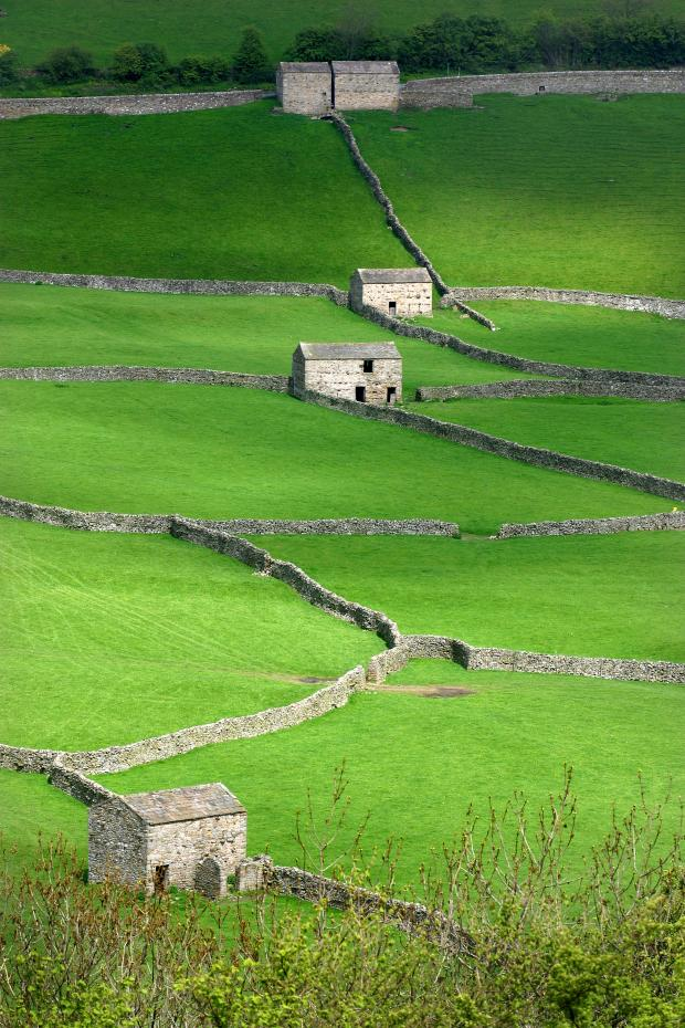 The Northern Echo: Gunnerside in the Yorkshire Dales