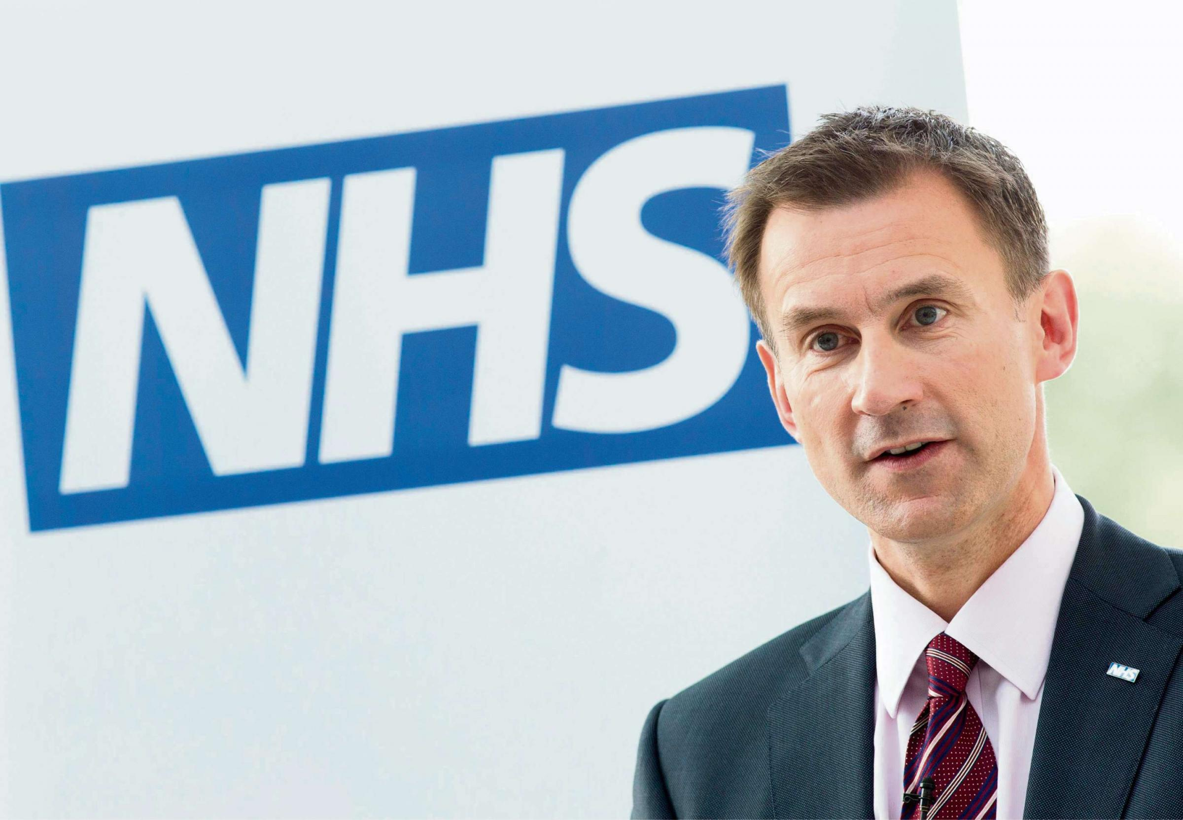 DECISION TIME: Health Secretary Jeremy Hunt is considering plans for maternity and paediatric services at the Friarage Hospital, Northallerton