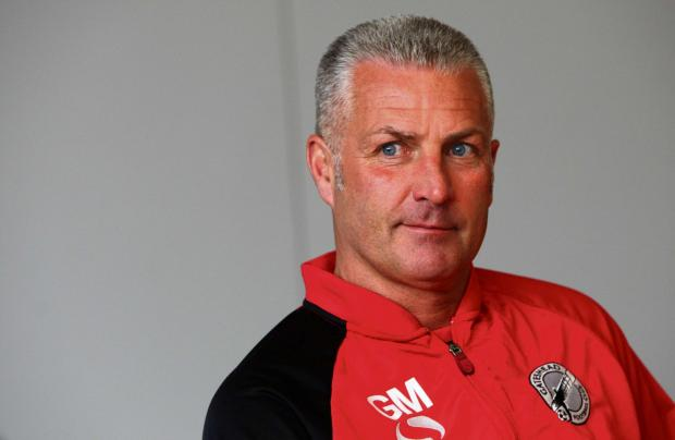HOPEFUL: Gateshead boss Gary Mills is hoping to make three additions before the transfer window closes