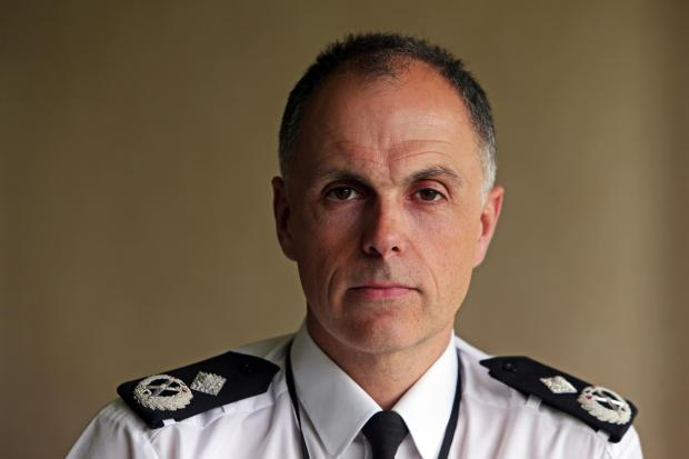 Cleveland police deputy chief constable Iain Spittal.