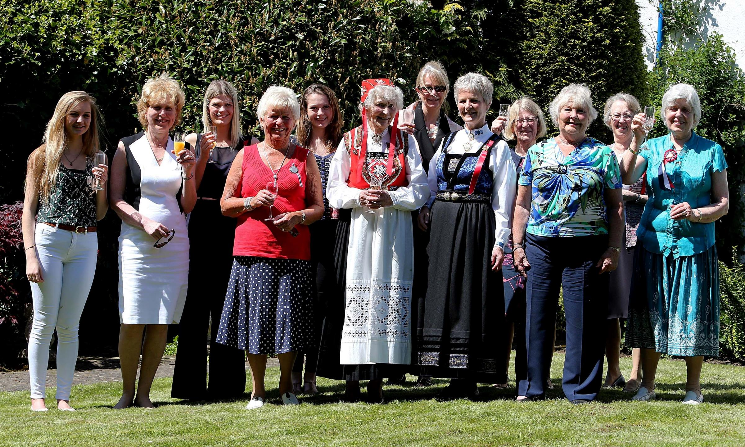 Norwegian expats celebrate National Day at North-East farmhouse