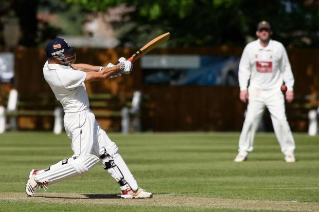 Dietr Klein batting for Stokesley
