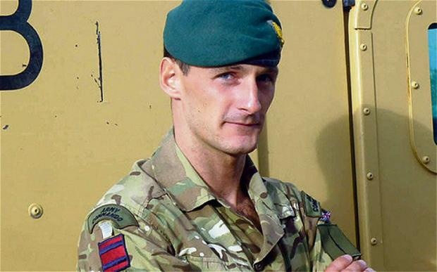 Captain Richard Holloway, 29, from Hamsterley, near Bishop Auckland, was serving with The Royal Engineers, when he was killed by enemy fire east of Kabul, on December 23.