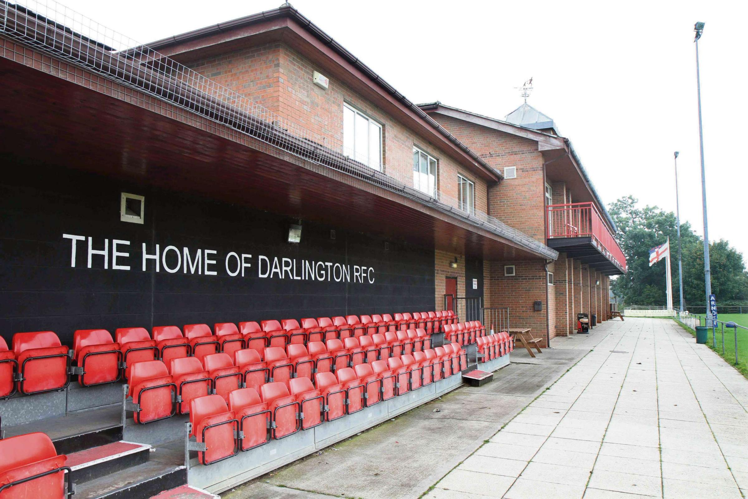 NEW HOME: Darlington FC is hoping to move to Blackwell Meadows Rugby Club from the start of next season