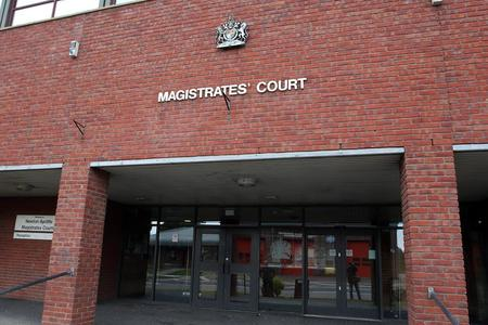 COURT HEARING: Newton Acyliffe Magistrates' Court where Billy Joe Wallis was given a 12-month community order