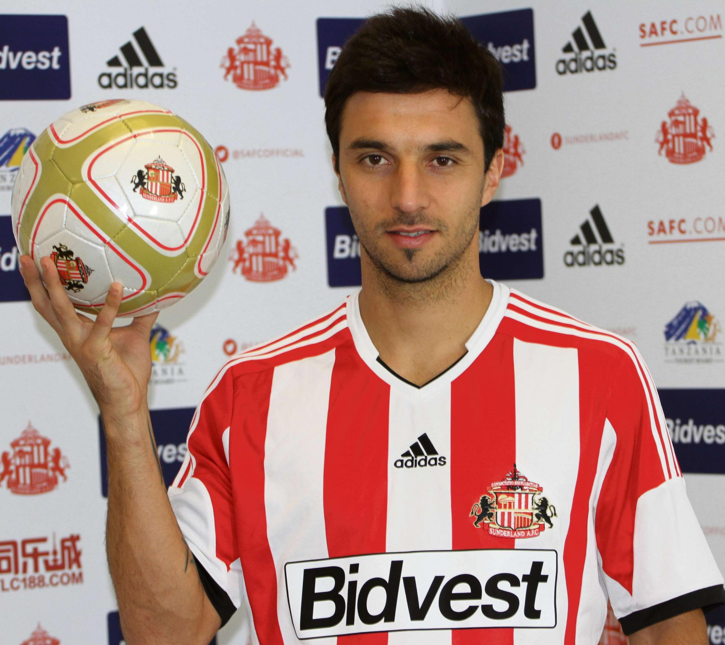 On his way: Sunderland's Ignacio Scocco is set for a return home