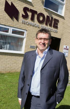BUILDING SUCCESS: Dave Stone, Stone Technical Services' managing director