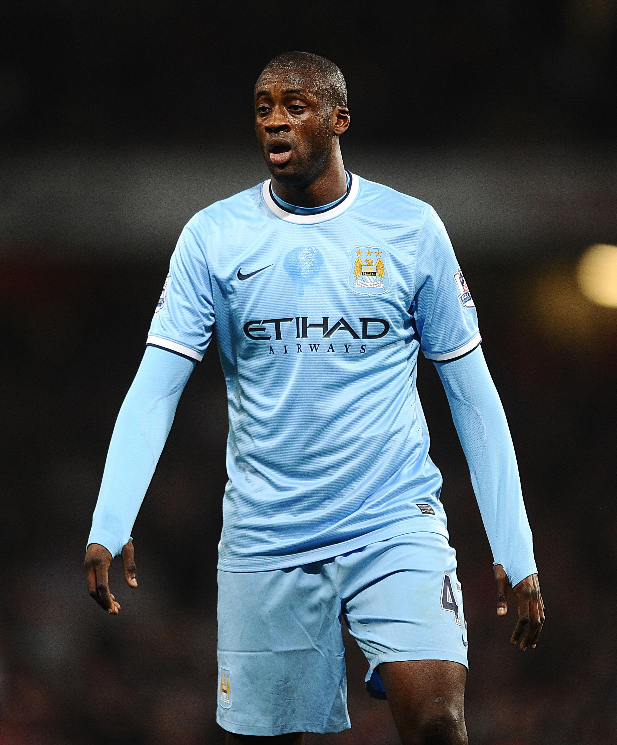 File photo dated 29/03/2014 of Manchester City's Yaya Toure.